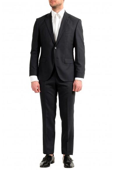 "Hugo Boss Men's ""Johnstons5/Lenon1"" Regular Fit 100% Wool Plaid Two Button Suit"