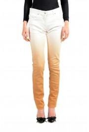 Maison Margiela Women's Multi-Color Straight Leg Jeans