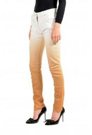Maison Margiela Women's Multi-Color Straight Leg Jeans: Picture 2