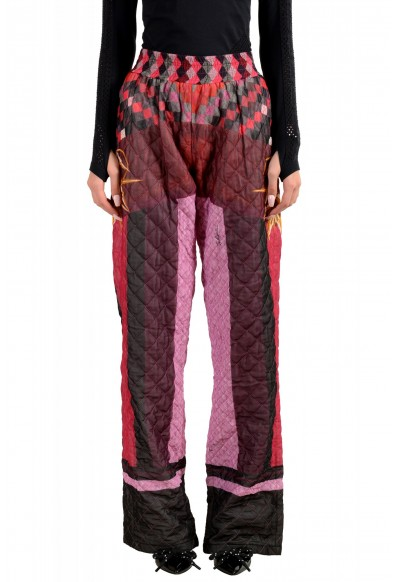 Just Cavalli Women's Multi-Color Insulated Casual Pants US S IT 40