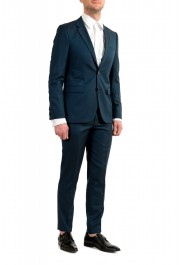 """Hugo Boss Men's """"Astian/Hets184"""" Green Extra Slim Fit Silk Wool Two Button Suit: Picture 2"""