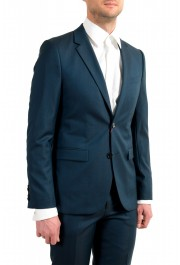 """Hugo Boss Men's """"Astian/Hets184"""" Green Extra Slim Fit Silk Wool Two Button Suit: Picture 5"""