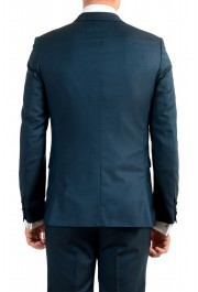 """Hugo Boss Men's """"Astian/Hets184"""" Green Extra Slim Fit Silk Wool Two Button Suit: Picture 6"""