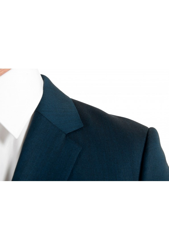 """Hugo Boss Men's """"Astian/Hets184"""" Green Extra Slim Fit Silk Wool Two Button Suit: Picture 7"""