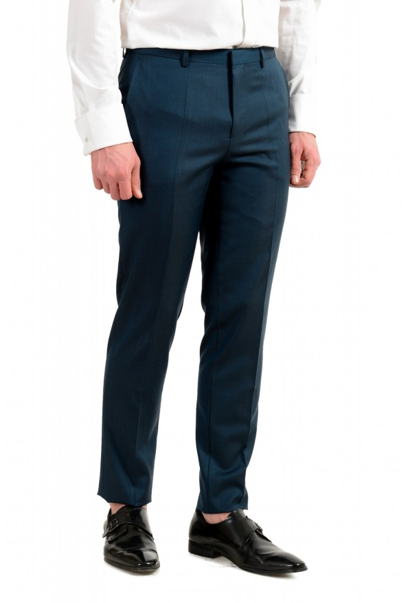 """Hugo Boss Men's """"Astian/Hets184"""" Green Extra Slim Fit Silk Wool Two Button Suit: Picture 9"""