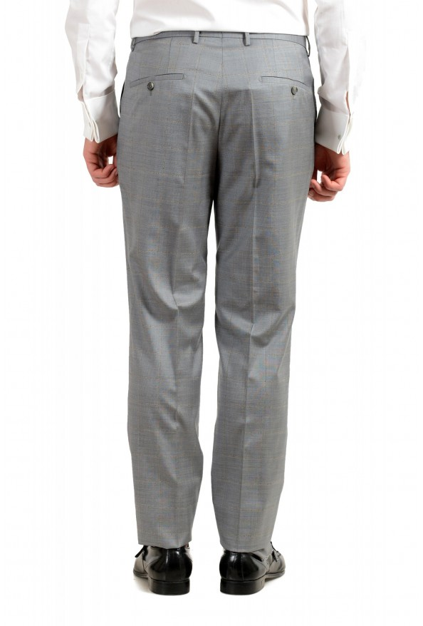 """Hugo Boss Men's """"T-Harvers4/Glover3"""" Slim Fit Silk Wool Plaid Two Button Suit: Picture 10"""