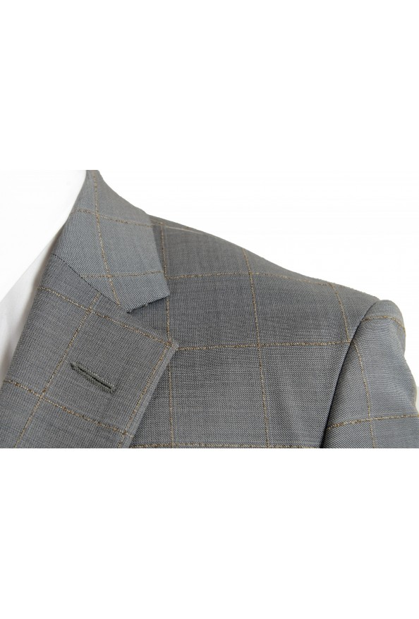 """Hugo Boss Men's """"T-Harvers4/Glover3"""" Slim Fit Silk Wool Plaid Two Button Suit: Picture 7"""