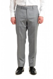 """Hugo Boss Men's """"T-Harvers4/Glover3"""" Slim Fit Silk Wool Plaid Two Button Suit: Picture 8"""