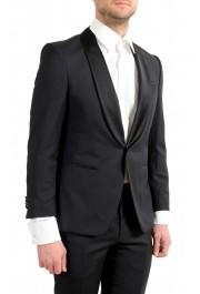 "Hugo Boss Men's ""Henry1/Glow1"" Slim Fit 100% Wool Black Tuxedo Suit: Picture 5"