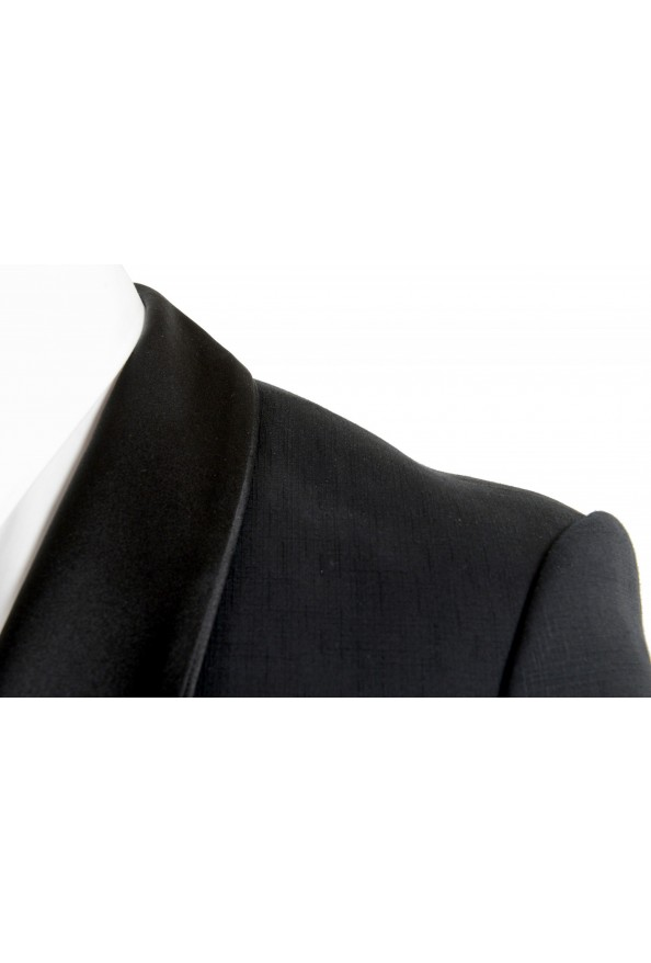 "Hugo Boss Men's ""Henry1/Glow1"" Slim Fit 100% Wool Black Tuxedo Suit: Picture 7"