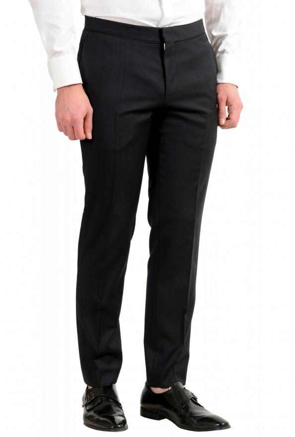 "Hugo Boss Men's ""Henry1/Glow1"" Slim Fit 100% Wool Black Tuxedo Suit: Picture 9"
