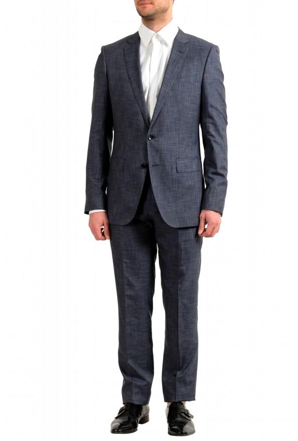 "Hugo Boss Men's ""Huge6/Genius5"" Slim Fit Silk Wool Two Button Suit"