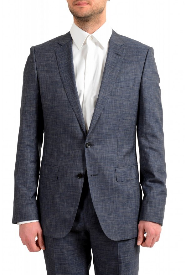 "Hugo Boss Men's ""Huge6/Genius5"" Slim Fit Silk Wool Two Button Suit: Picture 4"