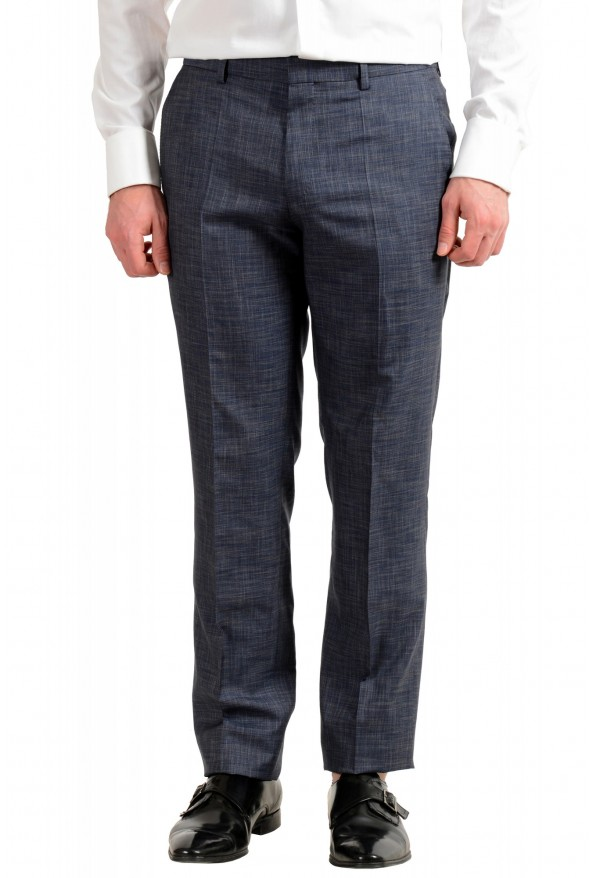 "Hugo Boss Men's ""Huge6/Genius5"" Slim Fit Silk Wool Two Button Suit: Picture 8"