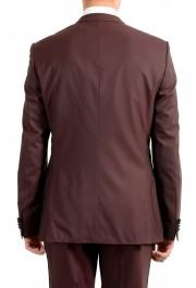 "Hugo Boss Men's ""Helward1/Gelvin_1"" Slim Fit 100% Wool Purple Tuxedo Suit: Picture 6"