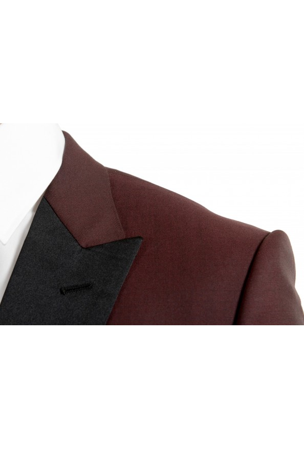 "Hugo Boss Men's ""Helward1/Gelvin_1"" Slim Fit 100% Wool Purple Tuxedo Suit: Picture 7"