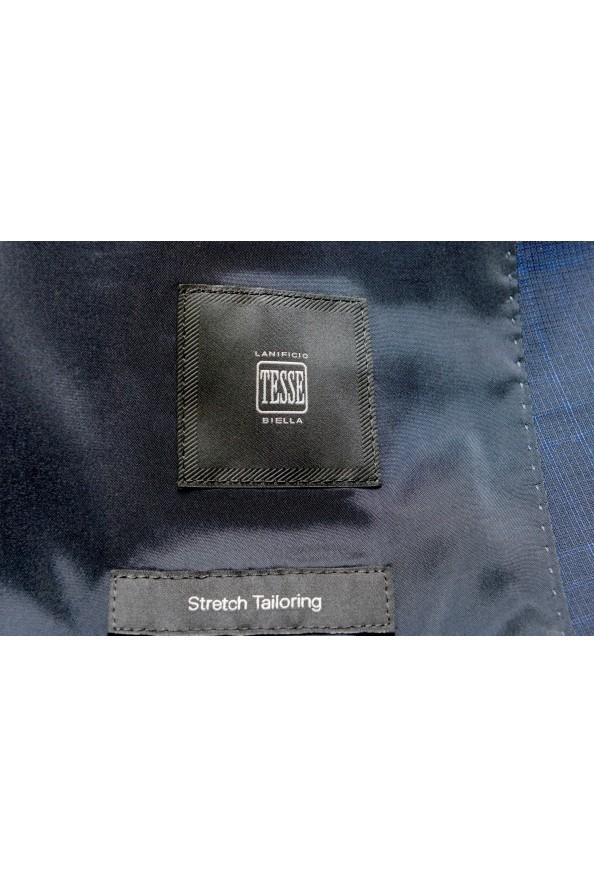 """Hugo Boss Men's """"Novan5/Ben2"""" Slim Fit 100% Wool Plaid Two Button Suit: Picture 13"""