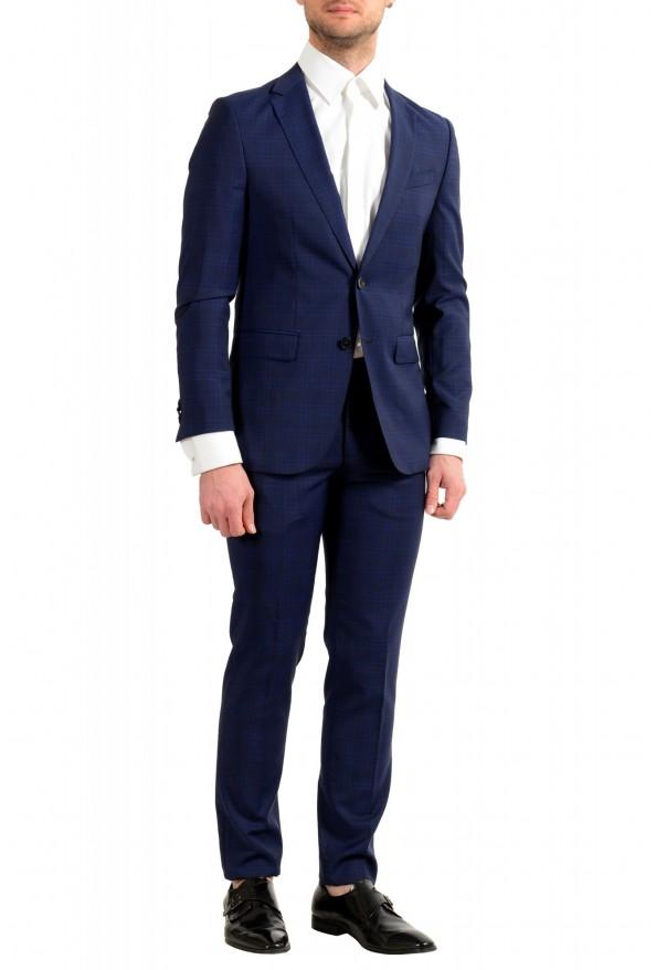 """Hugo Boss Men's """"Novan5/Ben2"""" Slim Fit 100% Wool Plaid Two Button Suit: Picture 2"""