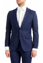 """Hugo Boss Men's """"Novan5/Ben2"""" Slim Fit 100% Wool Plaid Two Button Suit: Picture 4"""