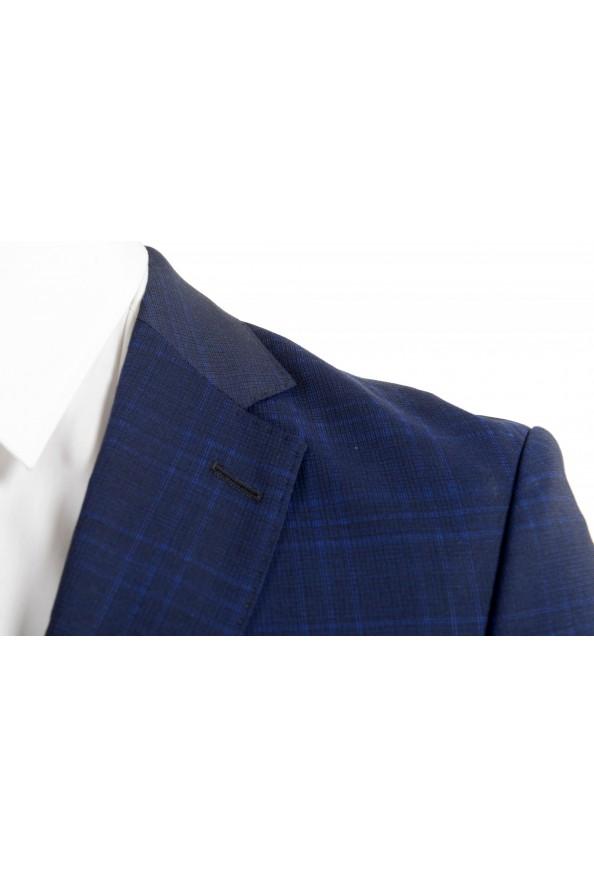 """Hugo Boss Men's """"Novan5/Ben2"""" Slim Fit 100% Wool Plaid Two Button Suit: Picture 7"""