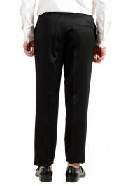 "Hugo Boss Men's ""Nielsen/Oliwer_1"" Black 100% Wool Double Breasted Tuxedo Suit: Picture 10"