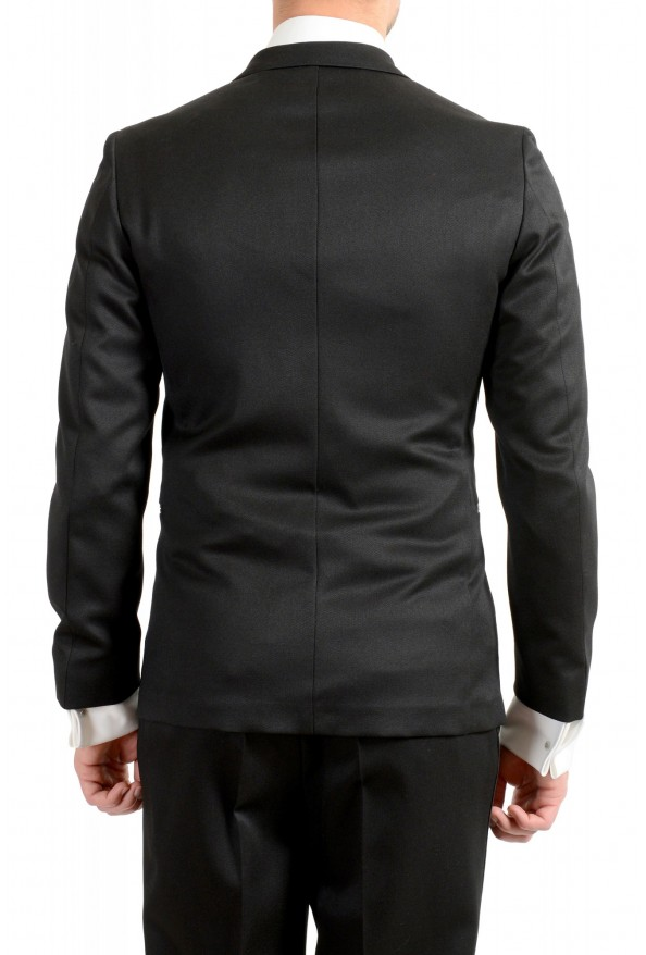 "Hugo Boss Men's ""Nielsen/Oliwer_1"" Black 100% Wool Double Breasted Tuxedo Suit: Picture 6"