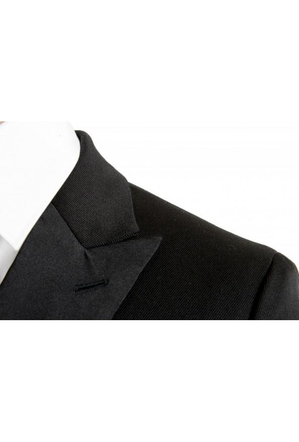 "Hugo Boss Men's ""Nielsen/Oliwer_1"" Black 100% Wool Double Breasted Tuxedo Suit: Picture 7"