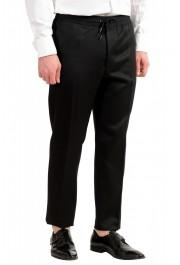 "Hugo Boss Men's ""Nielsen/Oliwer_1"" Black 100% Wool Double Breasted Tuxedo Suit: Picture 9"