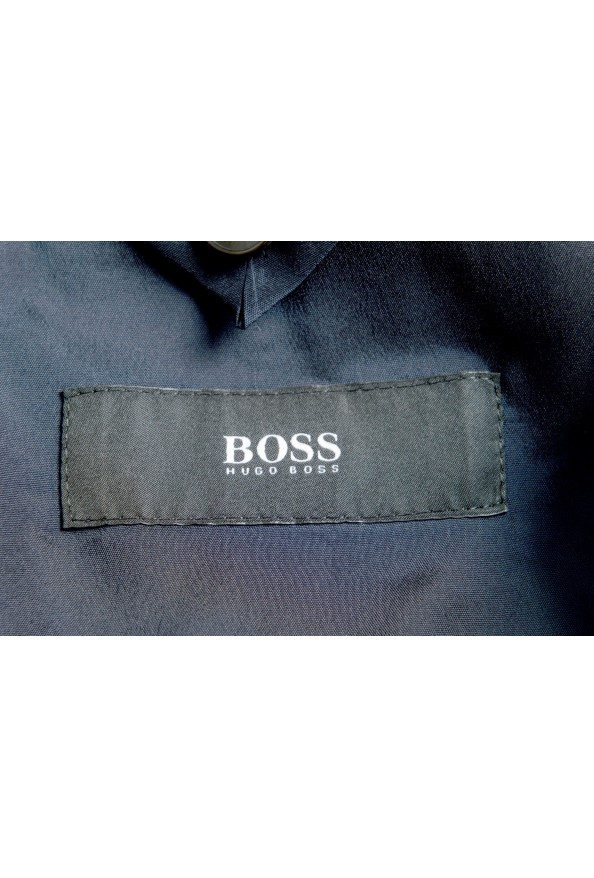 "Hugo Boss Men's ""Novan5/Ben2"" Slim Fit 100% Wool Blue Two Button Suit: Picture 11"