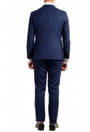 "Hugo Boss Men's ""Novan5/Ben2"" Slim Fit 100% Wool Blue Two Button Suit: Picture 3"