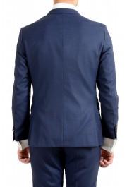 "Hugo Boss Men's ""Novan5/Ben2"" Slim Fit 100% Wool Blue Two Button Suit: Picture 6"
