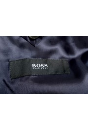"""Hugo Boss Men's """"Reyno4/Wave2"""" Extra Slim Fit 100% Wool Blue Two Button Suit: Picture 12"""
