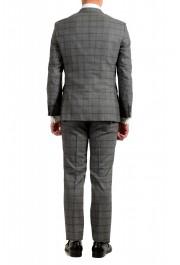 "Hugo Boss Men's ""Johnstons5/Lenon1"" Regular Fit 100% Wool Plaid Two Button Suit: Picture 3"