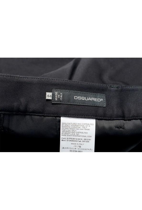 Dsquared2 Women's Black Flat Front Dress Pants: Picture 5