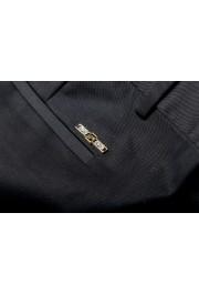 Dsquared2 Women's Black Flat Front Dress Pants: Picture 6