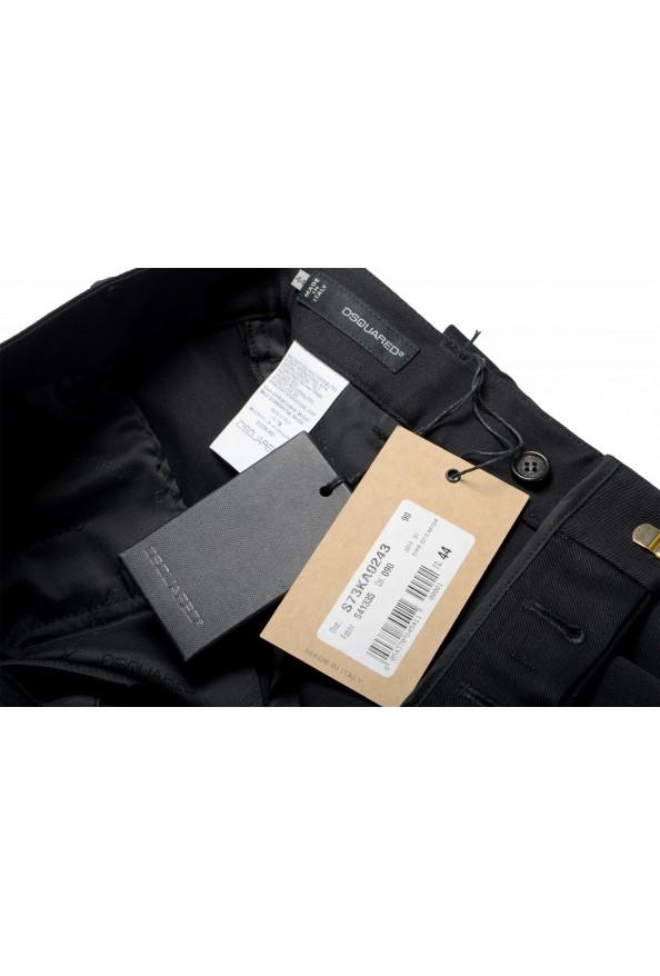 Dsquared2 Women's Black Flat Front Dress Pants: Picture 7