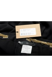 Dsquared2 Women's Black 100% Silk Chain Belted Dress Pants : Picture 5