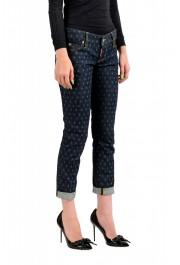 "Dsquared2 Women's ""Pat Jean"" Blue Wash Cropped Capri Jeans: Picture 2"