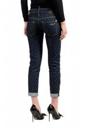 "Dsquared2 Women's ""Pat Jean"" Blue Wash Cropped Capri Jeans: Picture 3"