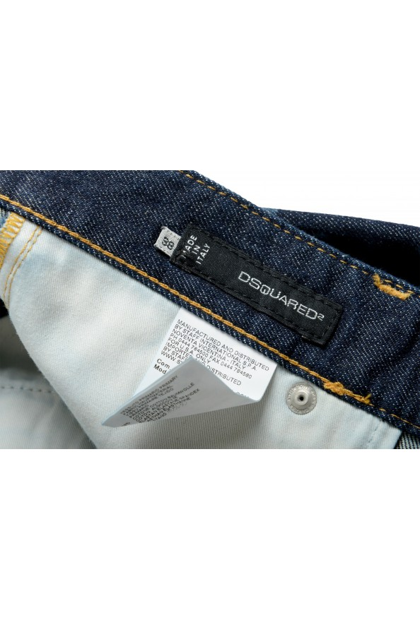 "Dsquared2 Women's ""Pat Jean"" Blue Wash Cropped Capri Jeans: Picture 4"