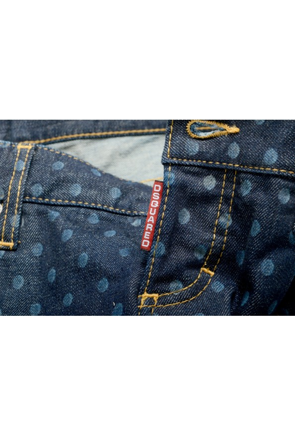 "Dsquared2 Women's ""Pat Jean"" Blue Wash Cropped Capri Jeans: Picture 5"