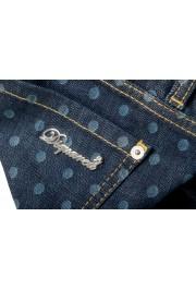 "Dsquared2 Women's ""Pat Jean"" Blue Wash Cropped Capri Jeans: Picture 6"