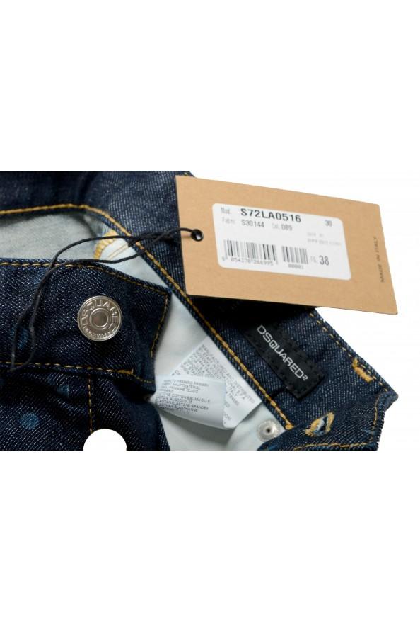 "Dsquared2 Women's ""Pat Jean"" Blue Wash Cropped Capri Jeans: Picture 7"