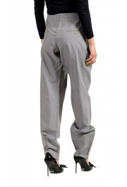 Viktor & Rolf Women's Gray Pleated Front Dress Pants: Picture 3