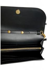 Burberry Women's Black Pebbled Leather Wallet Shoulder Bag: Picture 6