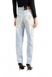 """Dsquared2 Women's """"Painter Jean"""" Blue Striped Denim Pants: Picture 3"""