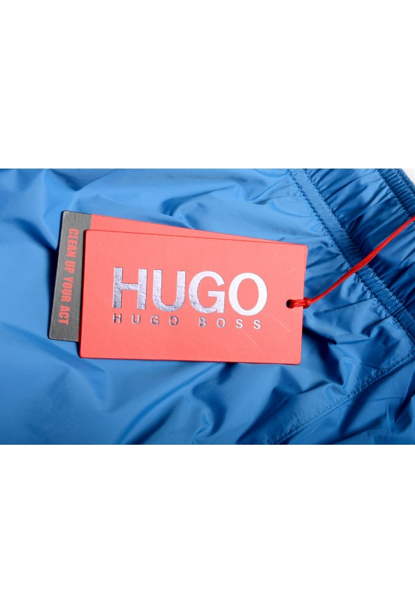 "Hugo Boss Men's ""Haiti"" Blue Swim Board Shorts: Picture 4"
