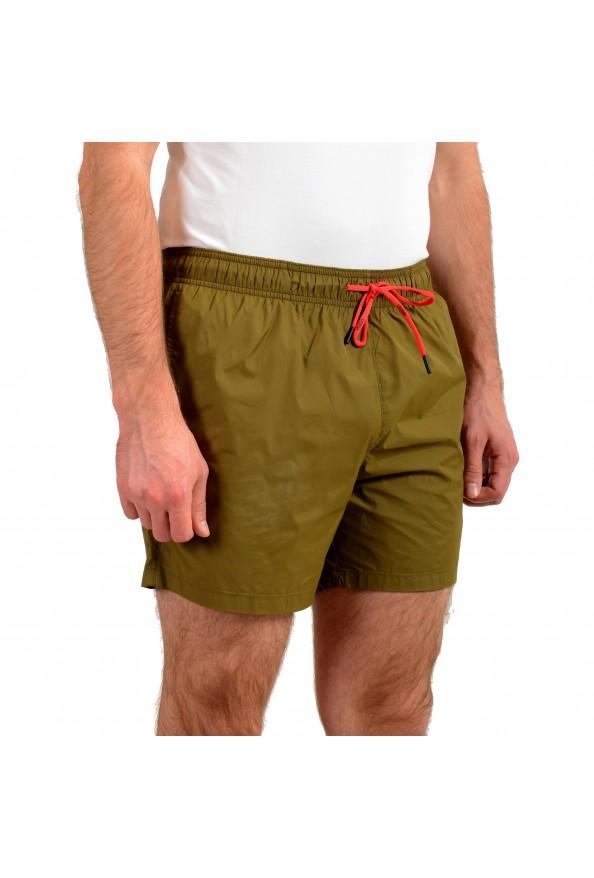 "Hugo Boss Men's ""Haiti"" Olive Green Swim Board Shorts: Picture 2"