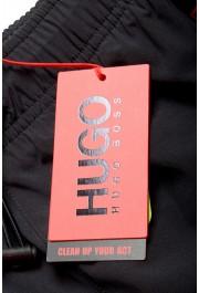 "Hugo Boss Men's ""Koji"" Black Swim Board Shorts: Picture 4"