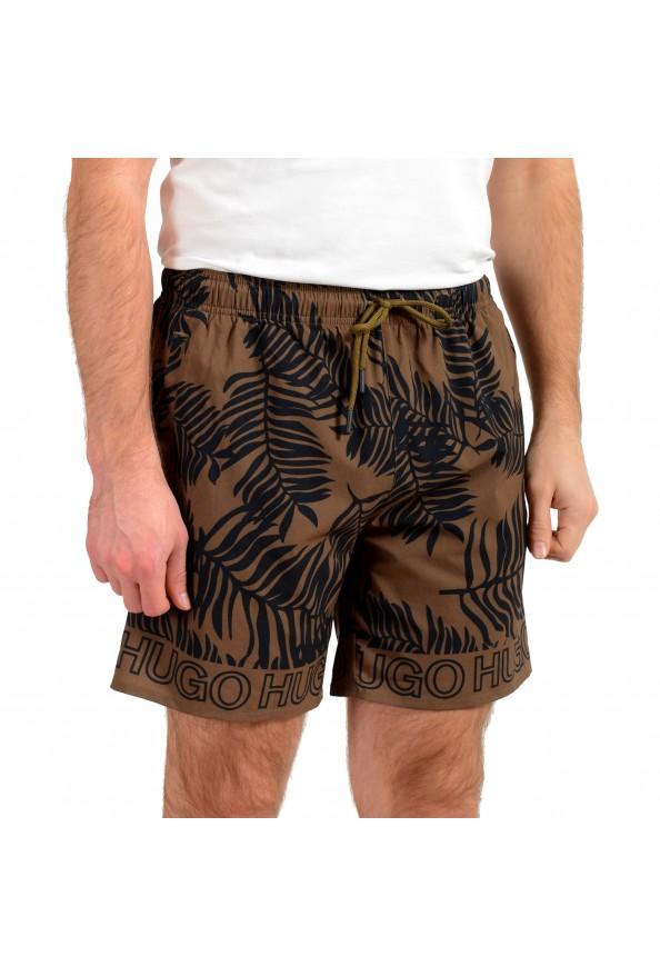 "Hugo Boss Men's ""SOMA"" Multi-Color Floral Print Swim Board Shorts: Picture 2"